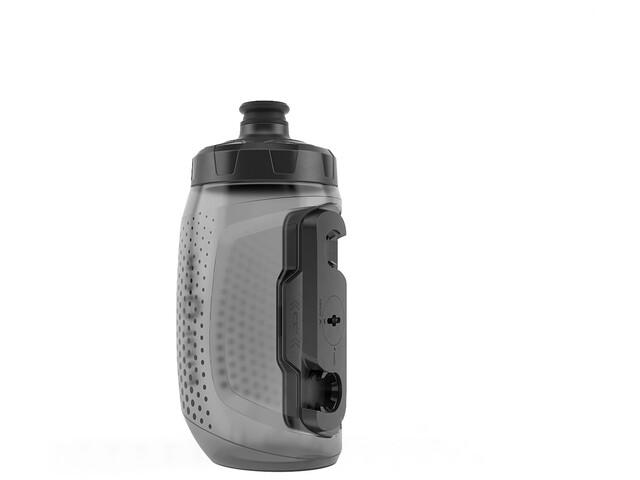 Fidlock Twist Single Bottle 450 incl. Conector, transparente/negro